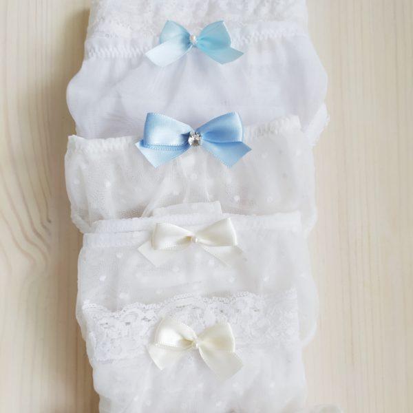 Kalhotky pro nevěstu bílé